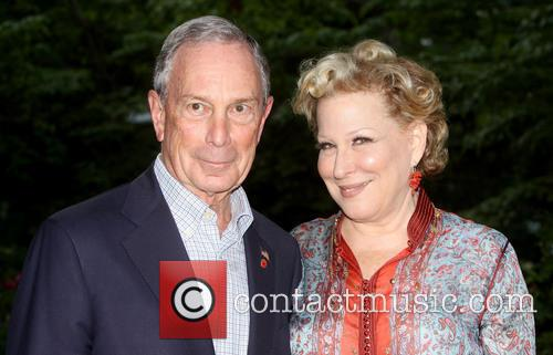Mayor Michael Bloomberg and Bette Midler 1
