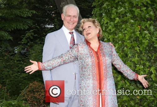 Tim Gunn and Bette Midler 5