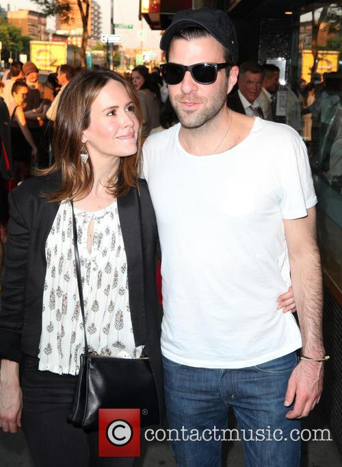 Sarah Paulson and Zachary Quinto 1