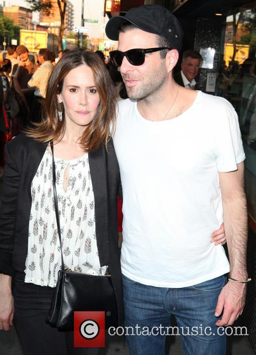 Sarah Paulson and Zachary Quinto 3