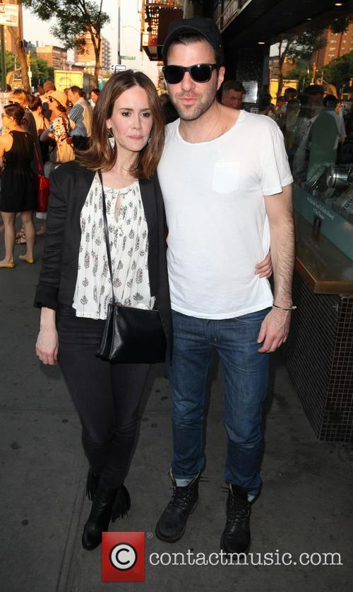 Sarah Paulson and Zachary Quinto 4