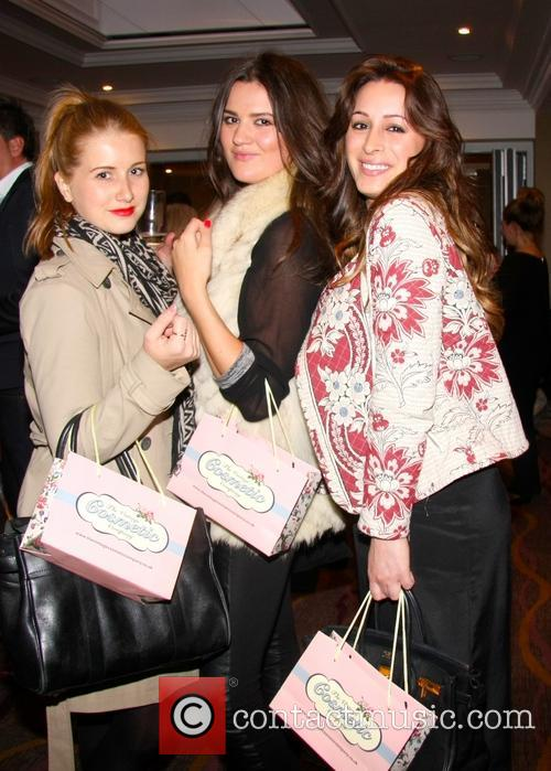 Celebrities attend The Vintage Cosmetic Company Birthday Party