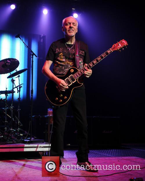 Peter Frampton performs at Hard Rock Live during...