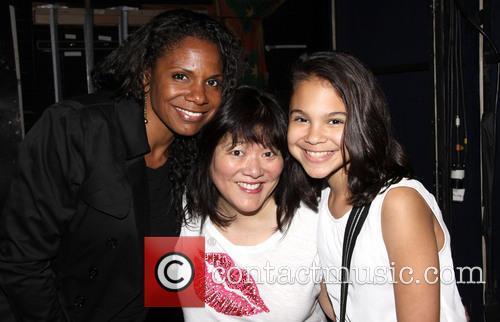 Audra Mcdonald, Ann Harada and Zoe Madeline Donovan 4