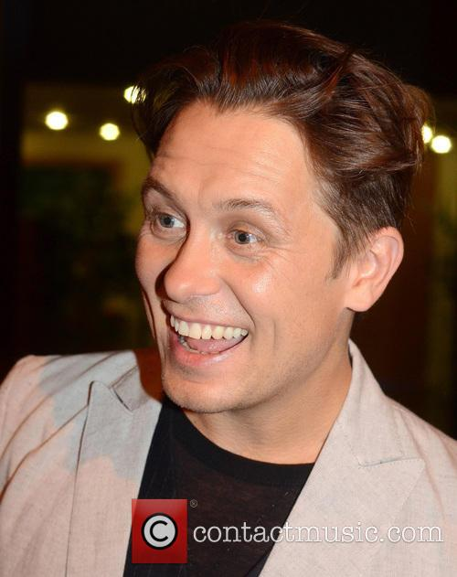 mark owen celebrities outside the rte studios 3697010