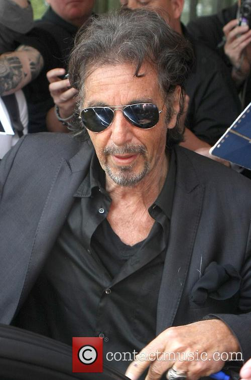 al pacino al pacino leaving the dorchester 3696001