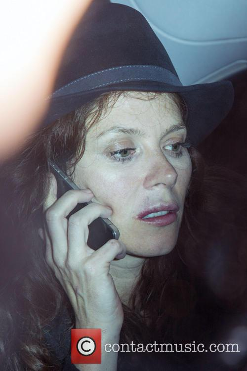 Anna Friel Takes Home Bottle Of Wine and...
