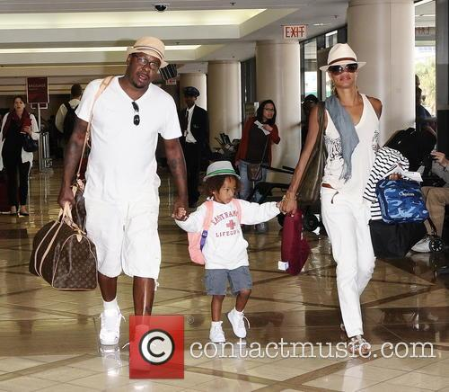 Bobby Brown, Alicia Etheredge, Cassius Brown, LAX airport