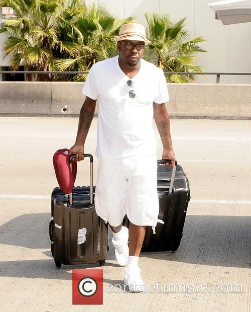 Bobby Brown, LAX airport