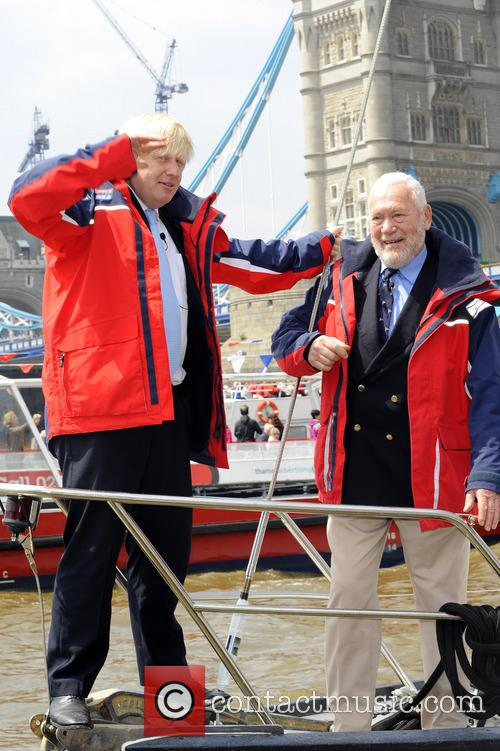 Boris Johnson and Sir Robin Knox-Johnston 7