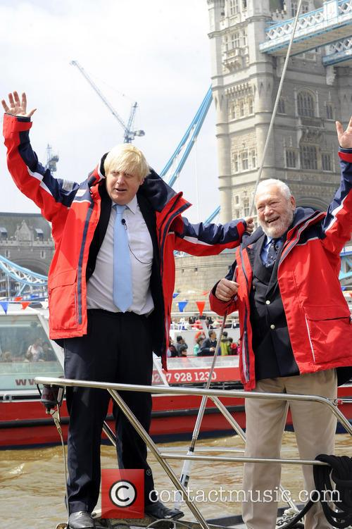 Boris Johnson and Sir Robin Knox-Johnston 9