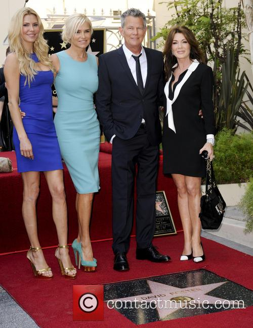 David Foster, Yolanda Hadid, Guest, Brandi Glanville, Lisa Vanderpump