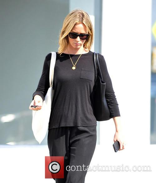 Emily Blunt seen shopping