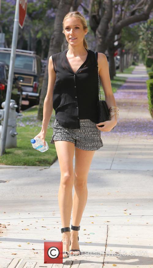Kristin Cavallari shows off her long legs as...