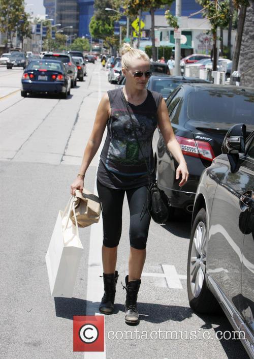 Malin Akerman goes shopping