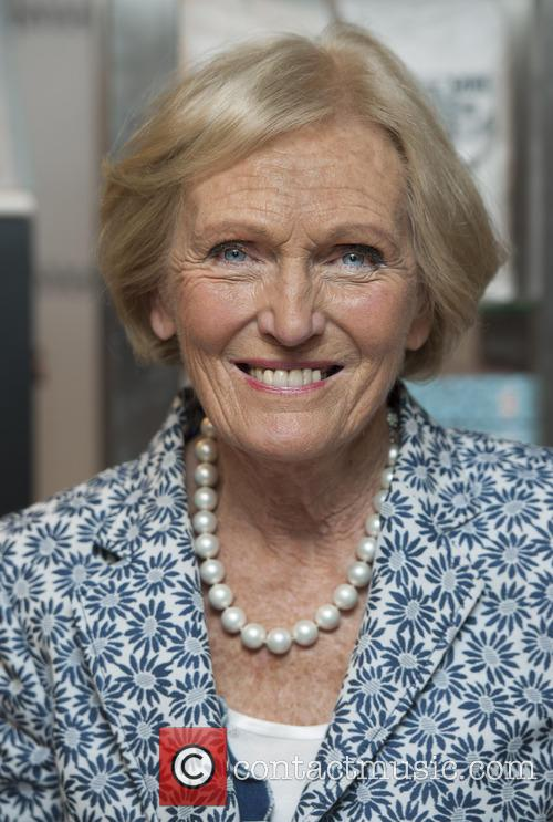 Mary Berry makes a personal appearance at Harrods...