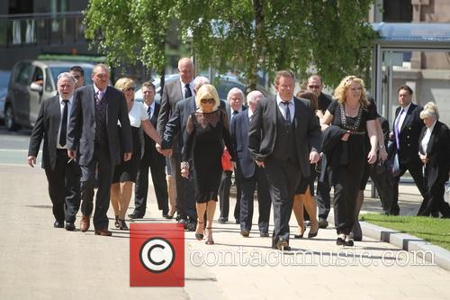 The funeral of Paul Shane