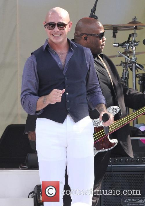 Pitbull and Armando Perez 4