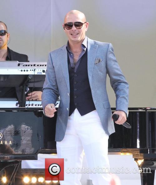 Pitbull and Armando Perez 16