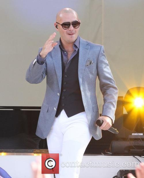 Pitbull and Armando Perez 1