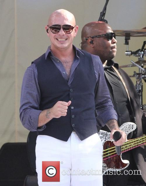 Pitbull and Armando Perez 26
