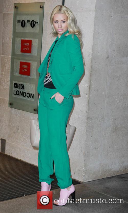 Iggy Azalea at the BBC studios