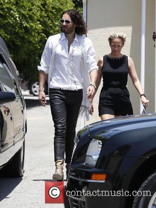 russell brand russell brand attends a funeral 3696792