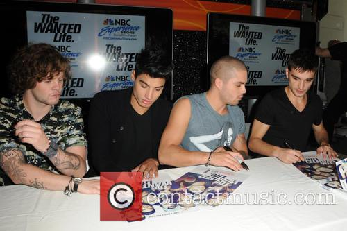 The Wanted, Siva Kaneswaran, Jay Mcguiness, Max George and Tom Parker 3