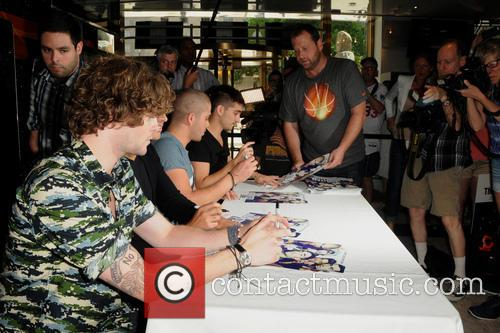 The Wanted, Siva Kaneswaran, Jay Mcguiness, Max George and Tom Parker 7