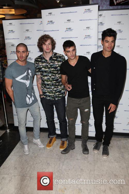 The Wanted attend a meet and greet at...