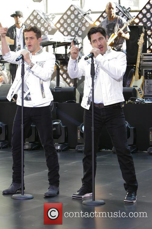 New Kids On The Block, Jonathan Knight and Joey Mcintyre 4