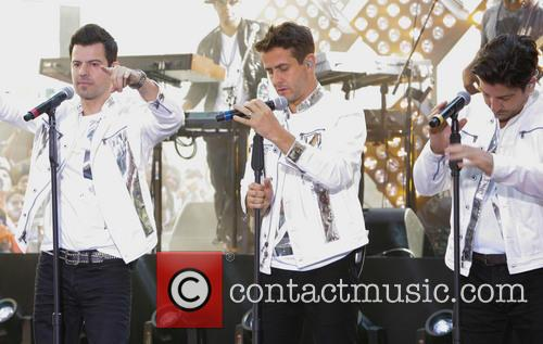 New Kids On The Block, Jordan Knight, Jonathan Knight and Joey Mcintyre 9