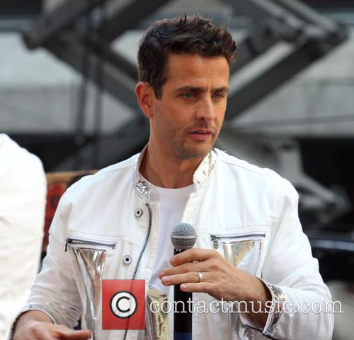 New Kids On The Block, Joey McIntyre, Today Show, Rockefeller Plaza
