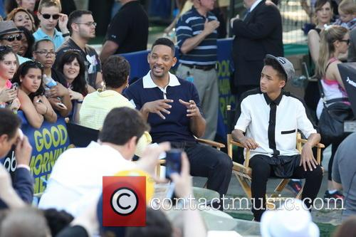 Will Smith, Jaden Smith and Robin Roberts 1