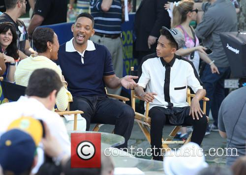 Will Smith, Jaden Smith and Robin Roberts 2