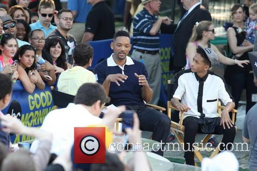 Will Smith, Jaden Smith and Robin Roberts 3