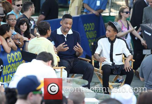 Will Smith, Jaden Smith and Robin Roberts 4