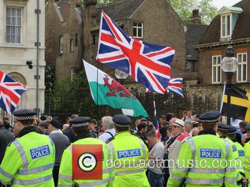 BNP and UAF demo London