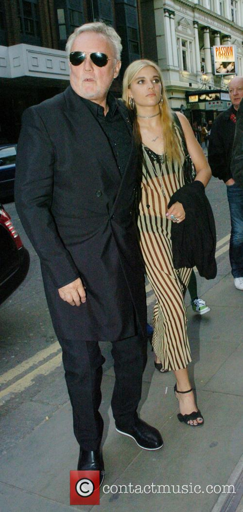 Roger Taylor and Tigerlily Taylor 1