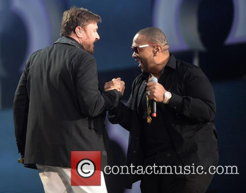 Simon Le Bon and Timbaland 1