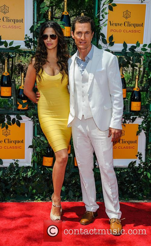 Matthew Mcconaughey and Camilla Alves 2