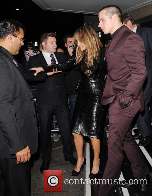 Jennifer Lopez leaves The Dorchester hotel