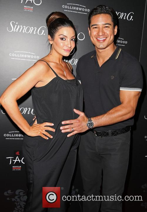 Courtney Lopez and Mario Lopez 8