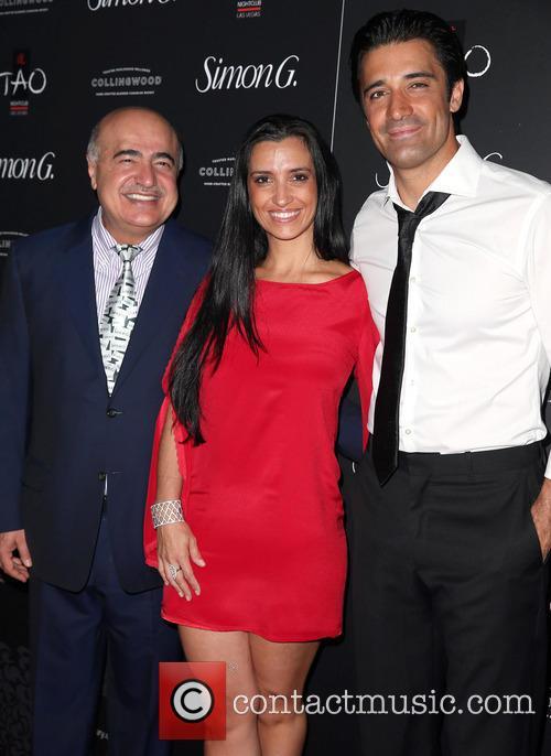 Simon G, Carole Marini and Gilles Marini 4