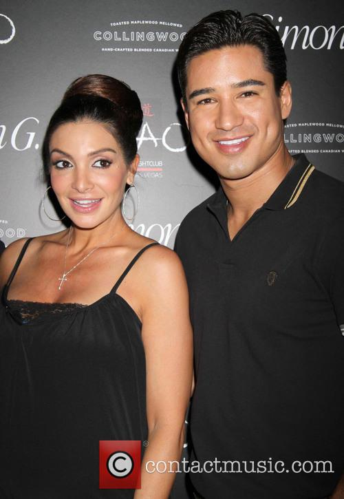 Mario Lopez and Courtney Lopez 5