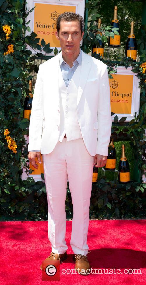 Matthew McConaughey, Sixth Annual Veuve Clicquot Polo Classic