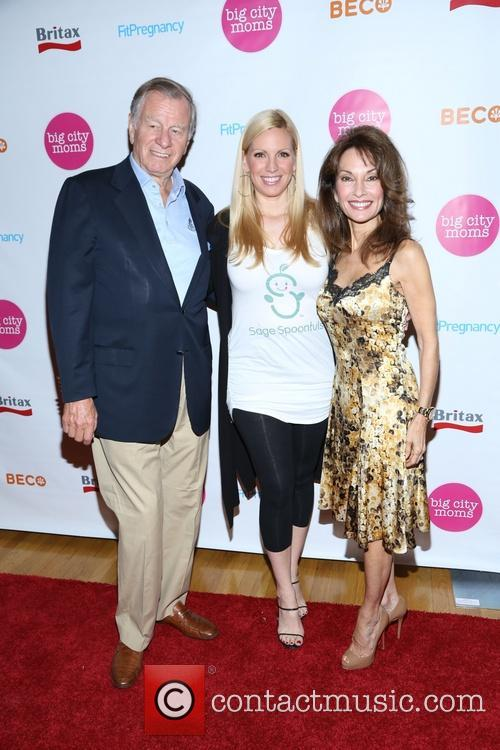 Susan Lucci, Helmut Huber and Liza Huber 4