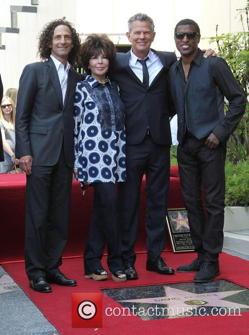 Kenny G, Carole Bayer Sager, David Foster and Kenneth 'babyface' Edmonds 2