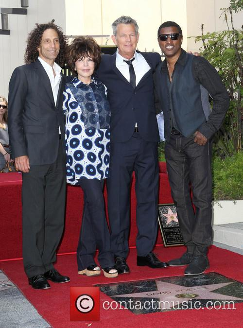 Kenny G, Carole Bayer Sager, David Foster and Kenneth 'babyface' Edmonds 4