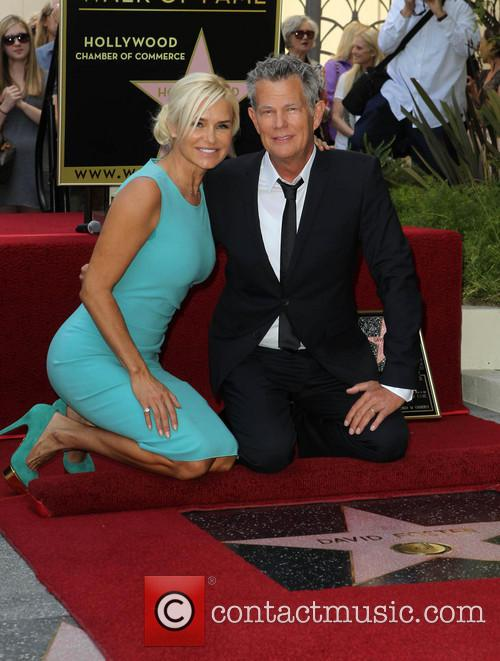 Yolanda Hadid and David Foster 1